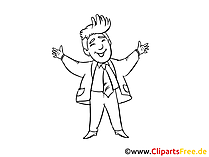 Motivation Clipart, Bild, Zeichnung, Cartoon