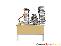 Neuer Job Clipart, Grafik, Bild
