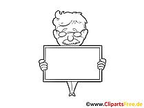 Notiz Clipart, Bild, Grafik, Zeichnung