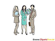 Personal, Personalvermittlung Clipart, Grafik, Bild