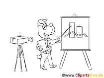 Praesentation Erfolg Clipart, Bild, Zeichnung