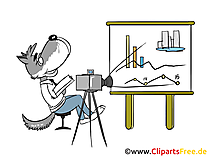 Praesentieren Clip Art, Bild, Grafik, Cartoon gratis