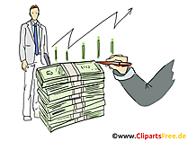 Profit Clipart, Grafik, Bild, Cartoon