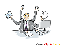 Projektmanagement Clipart, Grafik, Bild, Cartoon