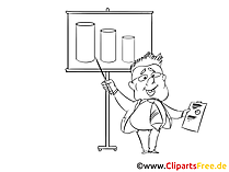 Sales Manager Clipart, Cartoon, Image
