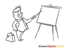 Schulung Clipart, Bild, Zeichnung, Cartoon