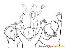 Seminar Clipart, Bild, Zeichnung, Cartoon