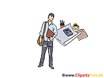 Startup Clip Art, Grafik, Bild, Cartoon