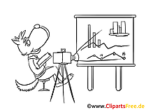 Strategie Workshop Clipart, Bild, Zeichnung, Cartoon