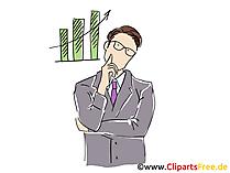 Unternehmer Bild, Cartoon, Clipart, Grafik