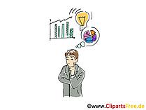 Unternehmer Clipart, Grafik, Bild, Cartoon