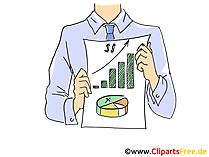 Ziele, Geschäftsplan Clipart, Grafik, Bild