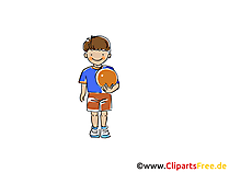 Beachvolleyball Bild, Sport Clipart, Comic, Cartoon, Image gratis