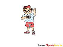 Fotografieren, Fotograf Clipart, Bild, Cartoon, Comic, Grafik
