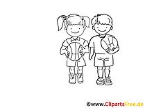 Basketball Zeichnung schwarz-weiss, Bild, Clipart, Comic, Cartoon