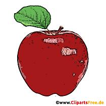 Apple Red Clipart Gratuit