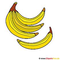 Bananen Clipart