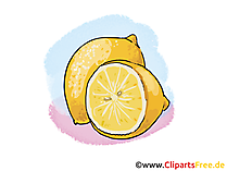 Citrone, Lemon Illustration, Bild, Clipart kostenlos