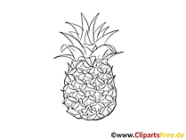 Clipart Ananas