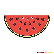 Watermeloen afbeelding illustraties