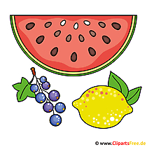 Wassermelone Clipart