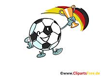 Clip Art download Fussball