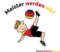Clipart Fußballspieler Deutschland