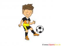 Cliparts Fussball