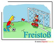 Freistoß Bild free