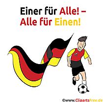 Fußball Grafik gratis