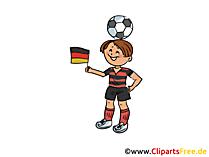 Fussball Sport Cliparts kostenlos