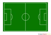 Fussballfeld Bild