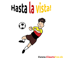 Fußballspieler Clipart gratis