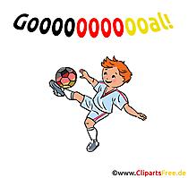 Goal Clipart Football
