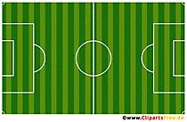 Terrain de football vert haute résolution PNG clipart