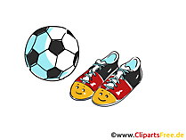 Illustration Fussball