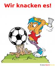Lustige Fußball Bilder - Wir knacken es!