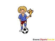 Pokal Clipart, Bild, Illustration gratis