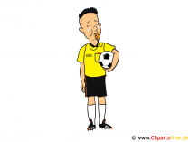 Referee Clip Art, Image, Cartoon, Image