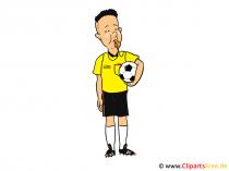 Referee Clip Art, Image, Cartoon, Image