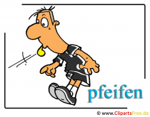 Schiedsrichter - Fussball Cliparts free