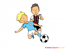 Soccer Cartoon Image, Pic, Graphic