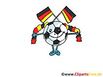 Gratis voetbal Clipart