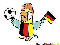 Soccer, Football Fussball Cartoon Clipart