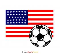 Soccer World Cup USA Clip Art