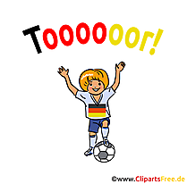 Gol, gelin, Futbol Clipart hit