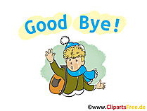 Good Bye Clip Art, Image, Picture