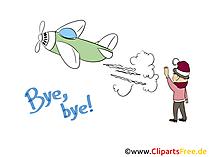 Abschied Bilder Cliparts Gifs Illustrationen Grafiken Kostenlos