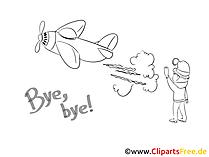 Zum Abschied Kollege Clipart, Bild, Cartoon