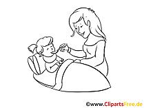 Clipart im Krankenhaus